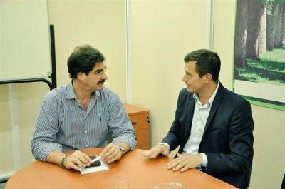 El intendente se reunió con el Ministro de Agroindustria de la provincia de Buenos Aires