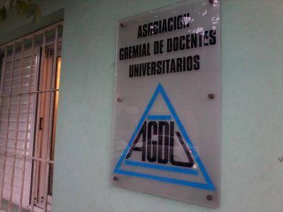 AGDU se sumó al rechazo de la asignación discrecional de fondos a universidades