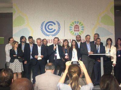 Bordet anunció en Marruecos la creación de fondo contra el cambio climático