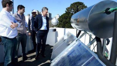 Salen a la venta los termotanques solares que Macri instaló en Olivos