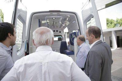 El Municipio mejora la asistencia en Lomas con más ambulancias
