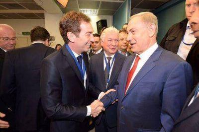 Santilli mantuvo un encuentro con Netanyahu en Israel