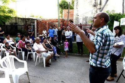 Anuncian la construcción del Poli Nº9 en el barrio Presidente Perón
