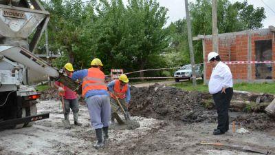 Berisso puso en marcha un plan integral de obras públicas