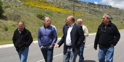 Reino y autoridades de COPAM recorrieron el Autódromo