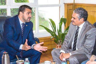 Vuoto recibió al embajador de Kuwait