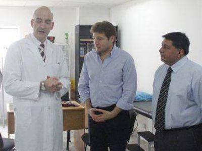 """El intendente Gustavo Melella aseguró que """"el área de Salud del Municipio no tiene techo"""""""