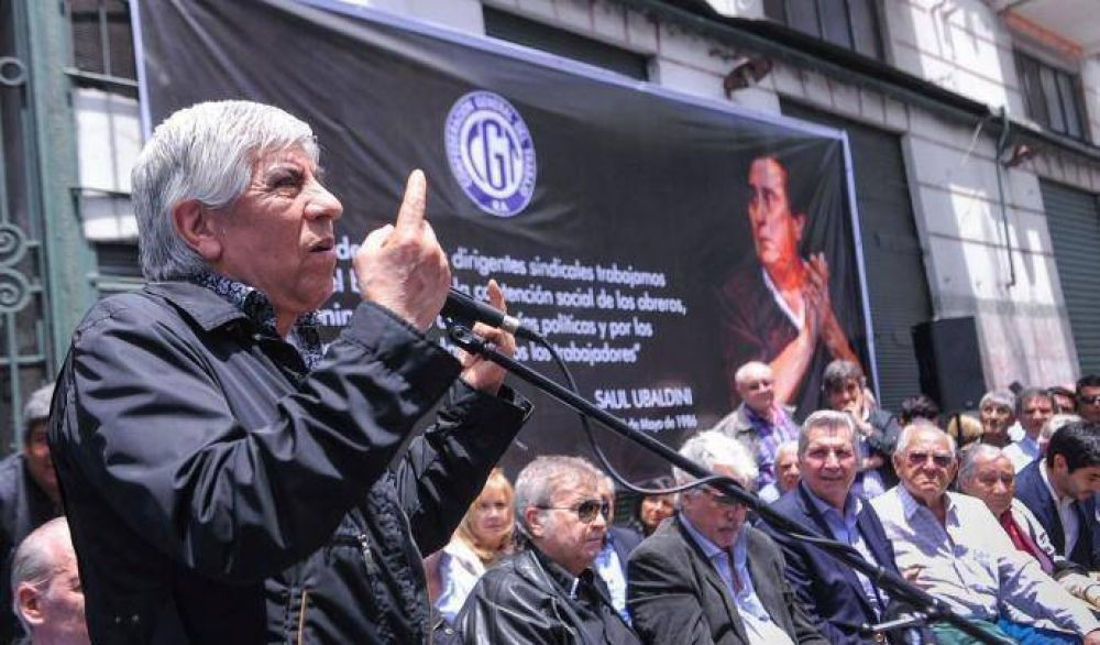 """Moyano advierte al Gobierno: """"Los tiempos se agotan"""""""