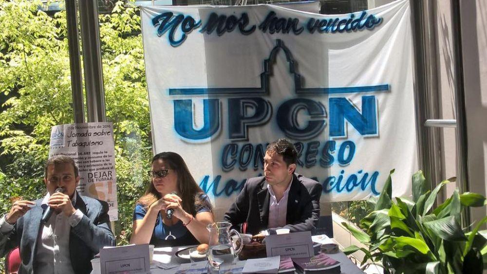 UPCN Congreso presente en una Radio Abierta por el Día del Militante y la lucha contra el tabaquismo