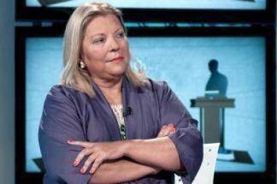 Tras sus críticas al Gobierno, Carrió encabeza acto junto a Vidal y Larreta