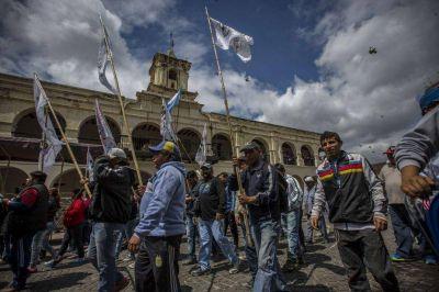 En Salta, sin la presencia de los gremios de la CGT