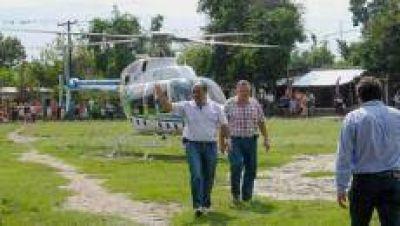 Manzur pide a la Legislatura autorizar la compra de un helicóptero por más de 100 millones