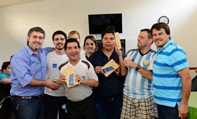 El Taller Protegido de San Fernando recibió una mención especial de AySA