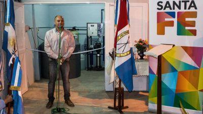 La provincia inauguró una planta potabilizadora en Colonia Ituzaingó