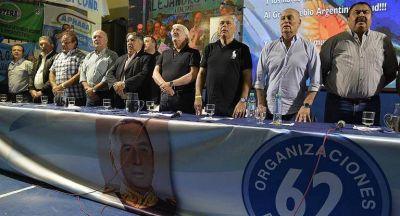 Las 62 Organizaciones criticaron al triunvirato de la CGT