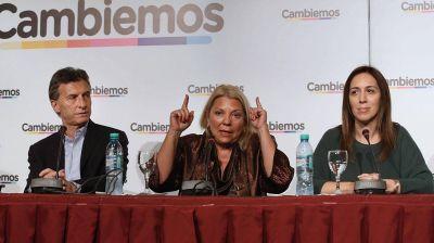 Macri juega a las damas: Vidal, Carrió y Stanley como sostenes de su gobierno
