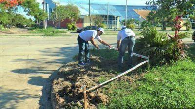 La Municipalidad continúa con el plan de erradicación de microbasurales
