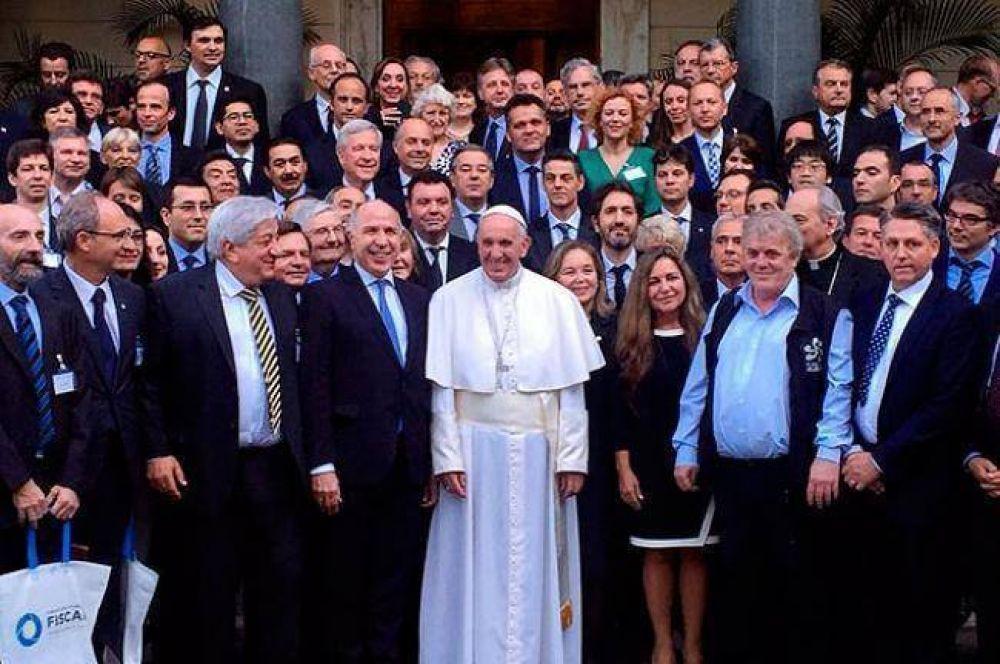Niremperger fue convocada por el Papa Francisco junto a jueces federales