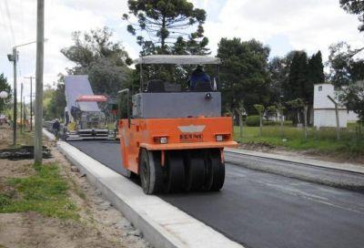 Ya se reasfalta Pujol y el Municipio avanza con las obras de infraestructura