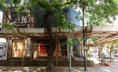 Otro golpe al patrimonio: incendio provocó daños en chalet de Alula Baldassarini