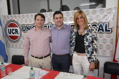 Asumieron las nuevas autoridades de la UCR de Olavarría