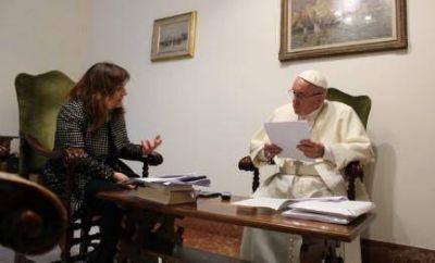Entrevistar a un Papa (y Padre)