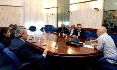 Ducoté se reunió con D'Onofrio: AySA, aumento de tasas y obras para Pilar, al tope de la agenda