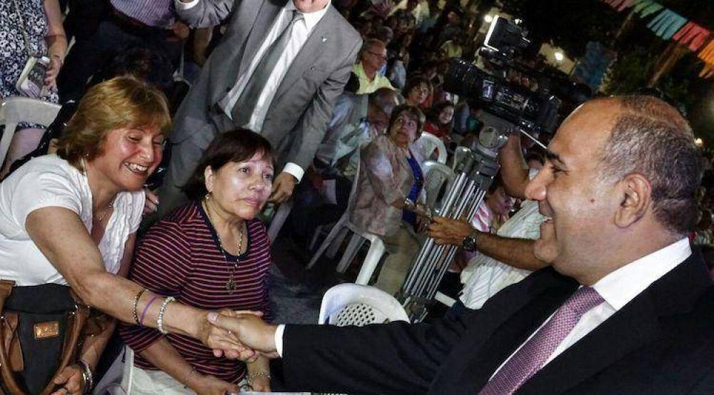 Con la presencia del Gobernador, Lules festejó sus 165 años