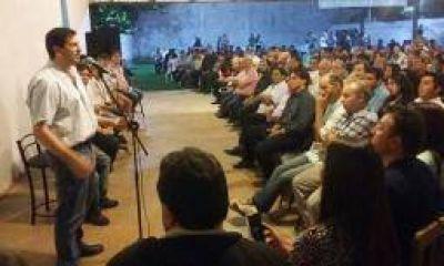 Bordagaray lanzó el Frente de Unidad Riojano