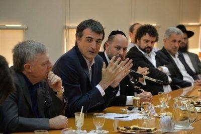 AMIA recibió la visita del Ministro de Educación Esteban Bullrich