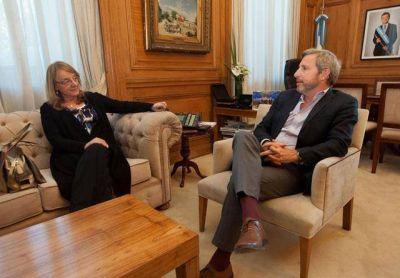 Reunión de Alicia Kirchner con Rogelio Frigerio