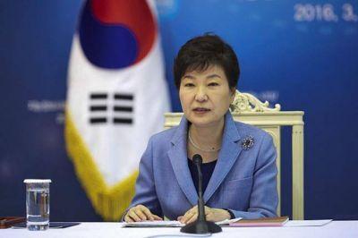 La presidenta de Corea del Sur fue acusada de corrupción