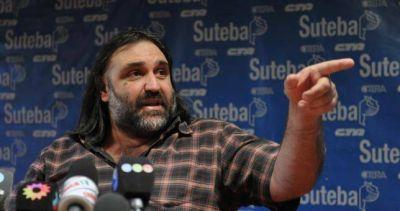 Baradel denunciará en tribunales internacionales la intimidación a docentes