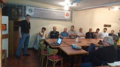 Acueducto Oeste: OSSE brindó charlas informativas a vecinos, entidades y colegios profesionles