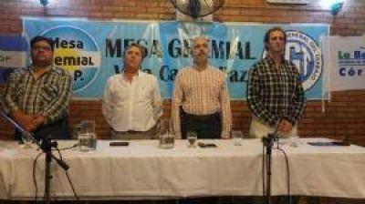 La Mesa Gremial cerró el año con el ministro de Trabajo de la Provincia