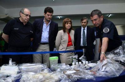 Por el avance del narcotráfico, vienen a Paraná Michetti y Bullrich