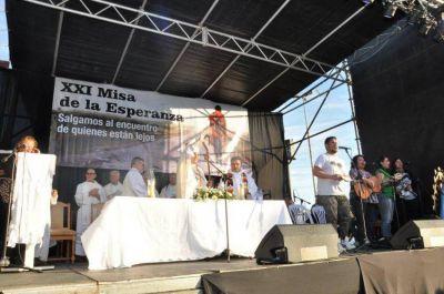 Mons. Tissera llamó a salir al encuentro de quienes pasan hambre o sufren el desempleo