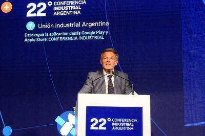 Cabrera en la Conferencia Industrial: