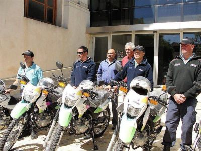 El municipio presentó motos para reforzar los controles de tránsito