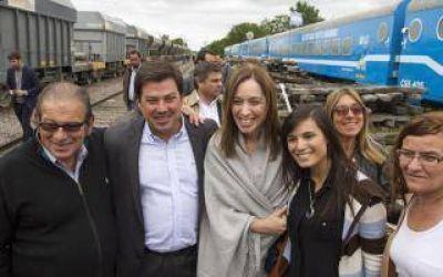 Vidal presentó el tren del programa