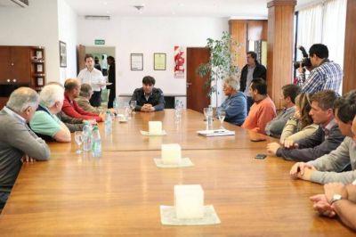 En Tandil, Diego Bossio reunió a empresarios y aportó su mirada sobre la actualidad económica