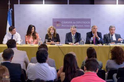 Lordén encabezó Jornada sobre ACV en la Cámara de Diputados bonaerense