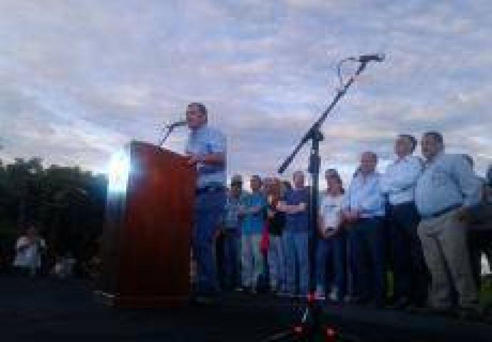 Trelles comentó el acto kirchnerista en Vuelta de Obligado