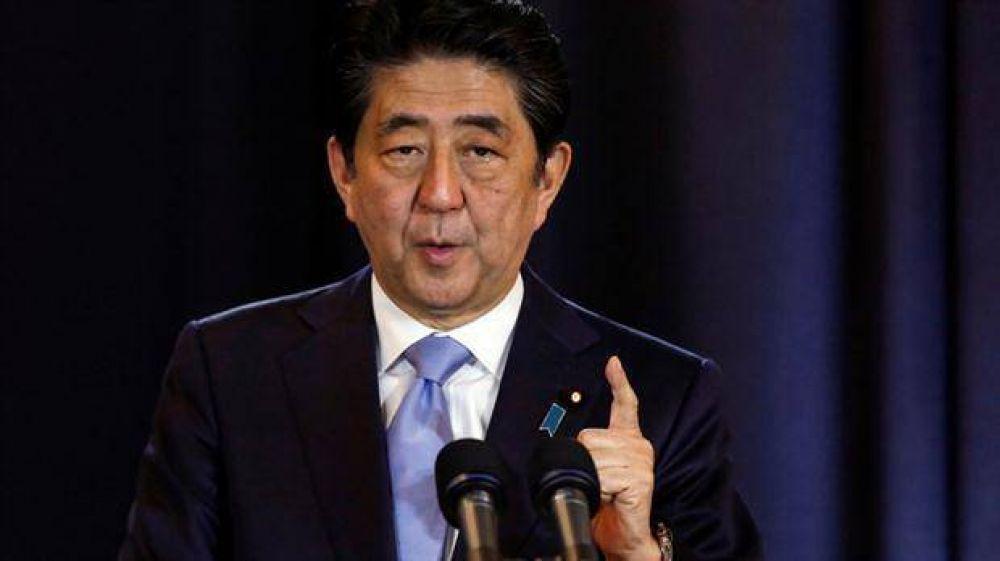 El primer ministro japonés dijo que el acuerdo comercial no tendría sentido sin Estados Unidos