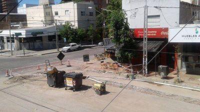 El EPAS pidió una prórroga y sigue el corte en calle Salta