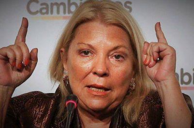 Interna en Cambiemos: Carrió denunció a tres funcionarios de Energía