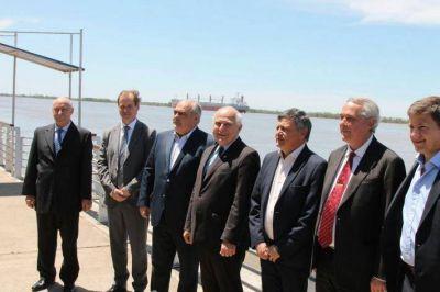Junto a gobernadores de Santa Fe, Corrientes y Entre Ríos, Peppo destacó:
