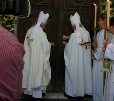 El nuncio apostólico visitó la diócesis de Chascomús y llamó a perdonar