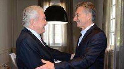 Mauricio Macri recibió en Olivos al predicador evangelista Luis Palau