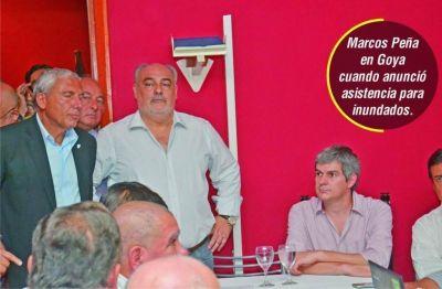 Marcos Peña invitado a bendecir la mesa correntina de Cambiemos